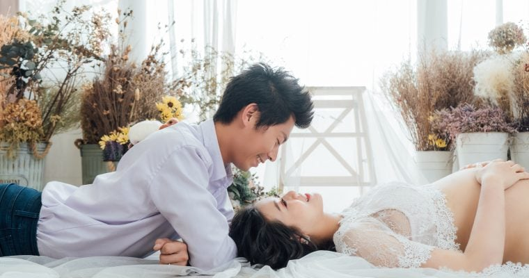 【HGG IMAGE 孕婦寫真/早點睡攝影棚】